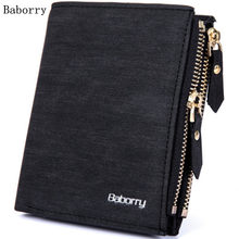 New Short Leather Wallet Men Cuzdan Card Holder Fashion Small Mens Wallets Money Bag Coin Purse Portomonee Vallet Kashelek Walet(China)