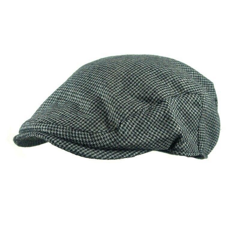 ff448845fe 2019 2018 Hot Sale Men'S Hat Wool Stripe Berets Fashion Casual Autumn  Driving Flat Cabbie Newsboy Visor Sun Beret Cap For Male From Saharalight,  $4.68 ...