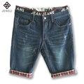 2016 Novos Homens Casuais Calções de Verão calças de Brim Para Homens Shorts Jeans Shorts dos homens Da Marca Slim Fit Moda Masculina Shorts Plus Size Quente venda