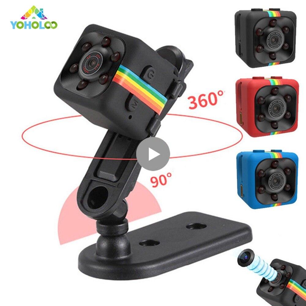 SQ11 Mini Camera HD 1080P Night Vision Camcorder Wireless Micro Car DVR Video Recorder Sport Digital Support TF Card Camera