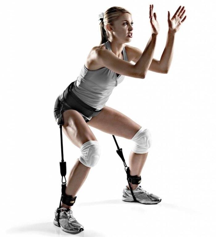 Bandes élastiques d'entraînement d'entraînement de Sport de Pilates d'équipement de forme physique extérieur d'intérieur de 5 couleurs de résistance de Yoga MMA