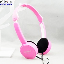 Children Foldable Wired Headphones Lighter Headset Portable 3 5mm Earphone With Wire Control Microphone For MP3