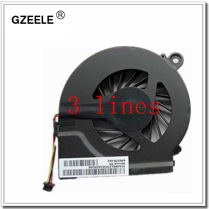 GZEELE Laptop cpu cooling fan for HP Compaq CQ42 G42 CQ62 G62 Pavilion g4 HSTNN-Q72C Series Notebook Replacement Fan Cooler CPU
