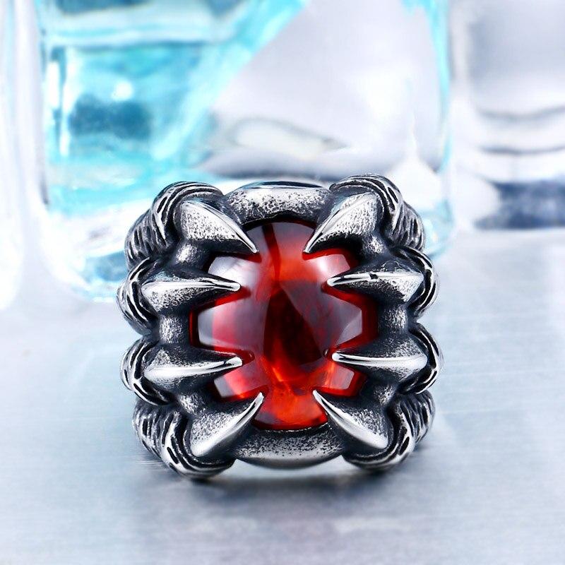 Dragon Claw Steel Ring 3