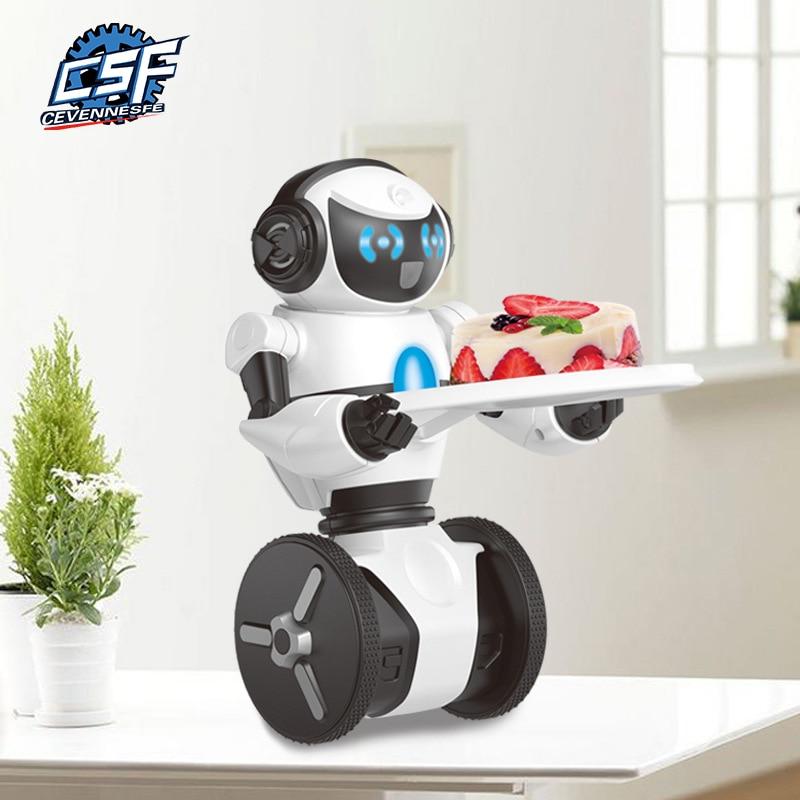 Venta caliente control remoto robot inteligente bailando rc robot Compatible con mip juguetes perro Robot interactivo para mascotas