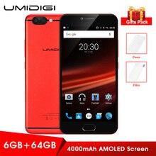 Оригинальный umidigi Z1 Pro 4 г смартфон MTK6757 4000 мАч 6 ГБ + 64 ГБ мобильный android 7.0 1080 P LTE Octa Core 2.3 ГГц двойной камеры телефоны