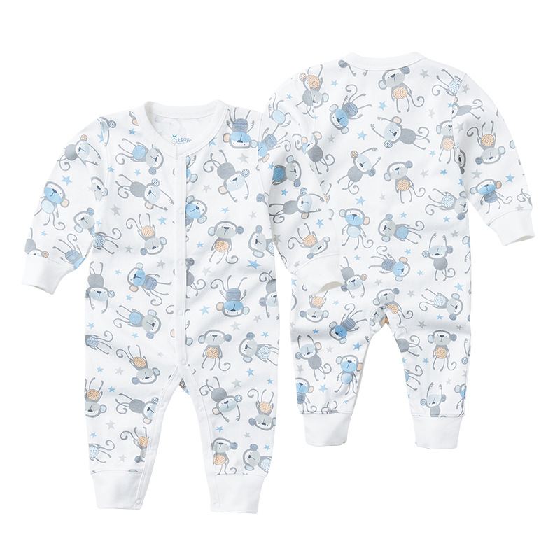 37f5d9144 6M-24M Baby Rompers Winter Warm Cotton Clothing Set for Boys Cartoon ...