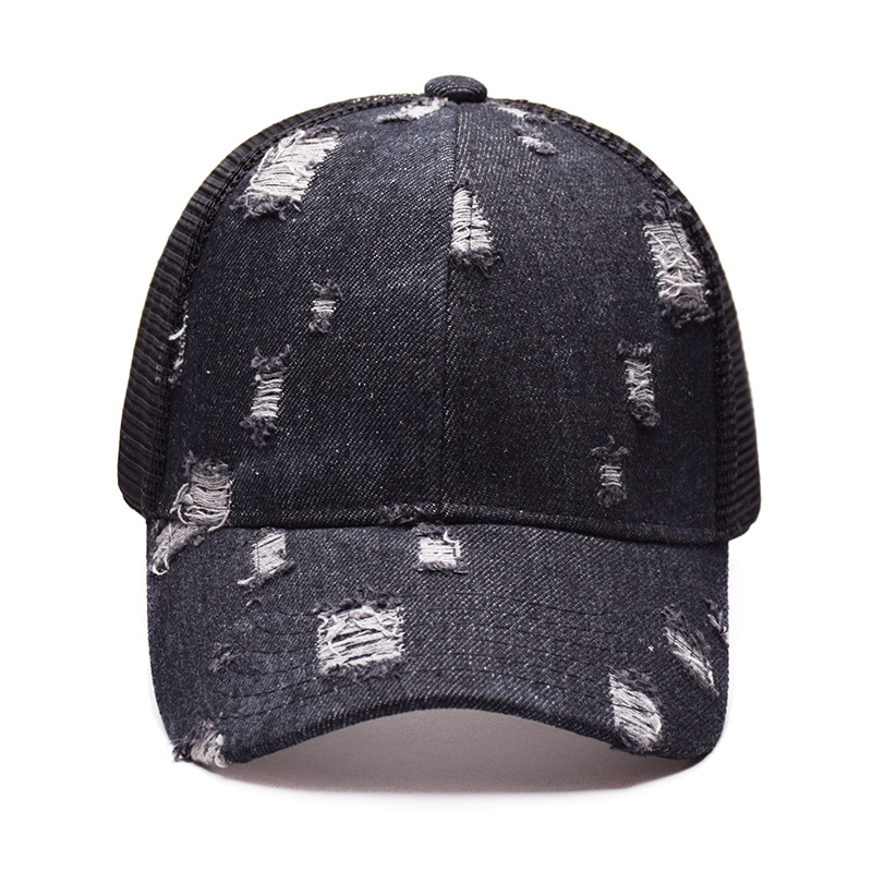 6033c1ca High Quality Women C.C Ponytail Caps Messy Buns Trucker Plain Baseball Cap  Fashion Snapback Sports Hats-in Baseball Caps from Apparel Accessories on  ...