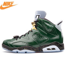 Nike Air Jordan 6 Retro AJ6 Men's Basketball Shoes,Sneakers Sports Shoes,True Standard Champagne Slip Cushioning Shoes