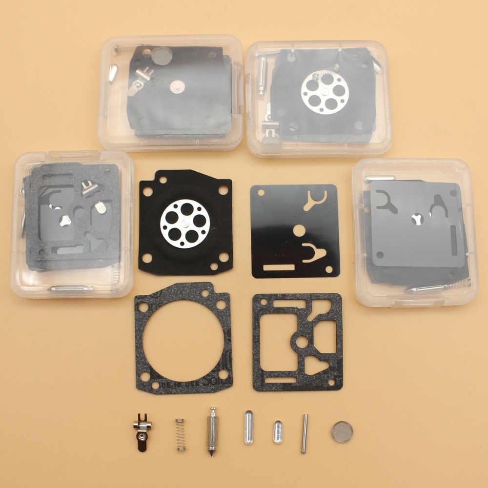 5Pcs/lot Carburetor Complete Rebuild Kit Fit HUSQVARNA 340 345 e 346XP 350  353 EPA Chainsaw ZAMA RB-122