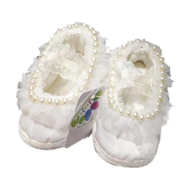 233223a26 BBWOWLIN bebé del bautizo zapatos para 0-12 meses marfil bautizo zapatos 124