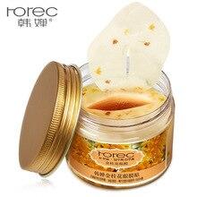 80 PCS Gold Osmanthus Flowers Eye Mask Face Care Dark Circle