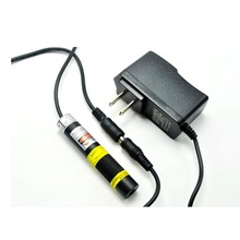 Focusable 780nm 100mW IR Infrared Line Laser Diode Module 16x68mm with K9 Glass Lens and US/EU/UK/AU 5V 1A Adapter sony sld255vl 100mw 780nm 5 6mm to18 bright infrared ir laser lazer diode ld