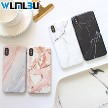 Marble Case For Iphone 7 Cover Silicone TPU Matte Cases 8 Plus X 6 6S Luxury Fundas Capa