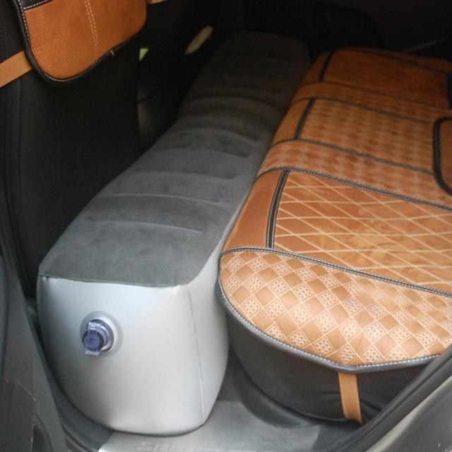 Car Bed Car Air Mattress Car Universal Rear Seat Cushion Air Bed Self-driving Tour Bed For Auto Car Interior Automotive