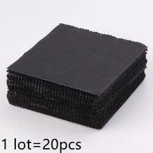 Microfiber Cleaning Cloth Glasses Black Eyeglass Cleaner Computer Screen Cleaner Sunglasses Accessories
