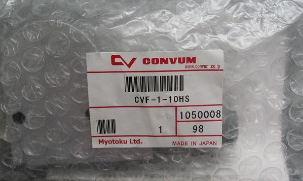 CONVUM vacuum generator CVF-1-10HS japan original convum vacuum generator cv 20hs new original