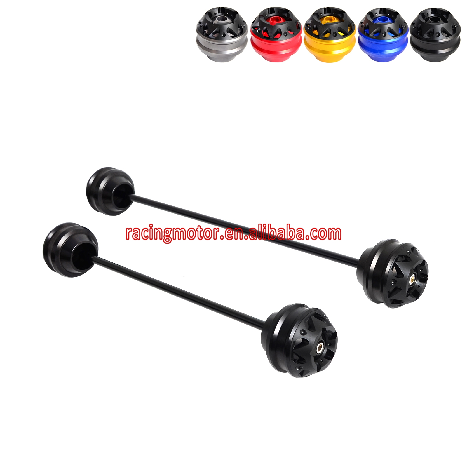 Front Amp Rear Axle Fork Sliders Crash Protector For Bmw