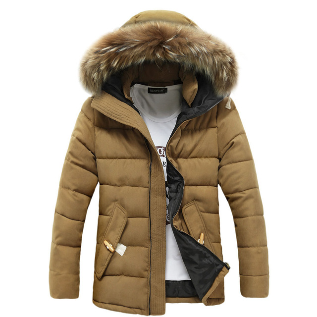 Men Parka Thick Jacket Warm Men Brand Design Winter Jacket Fur Collar Casual Outwear Hooded Down Coat Fashion Snow Windproof 404 down coat winter jacket men hooded parka with fur collar duck down jackets thick warm long outerwear male brand clothing