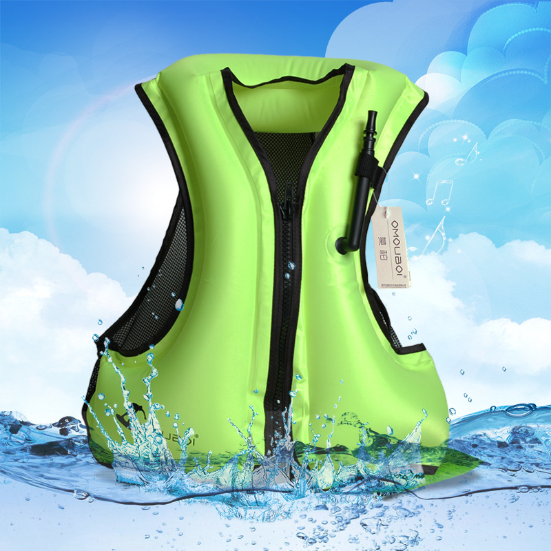 Unisex Polyester Life Jacket Swimming Life Vest Fishing Vest Outdoor Sport Safety Life Jacket For Drifting Boating Kayak