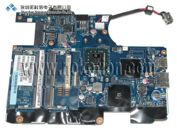 NOKOTION Original laptop Motherboard For Toshiba T215 T220 K000106050 LA-6032P Mainboard 100% Full Tested nokotion sps v000198120 for toshiba satellite a500 a505 motherboard intel gm45 ddr2 6050a2323101 mb a01
