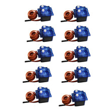 10pcs Rc Mini Micro 9g Servo SG90 for RC 250 450 Helicopter Airplane Car Boat