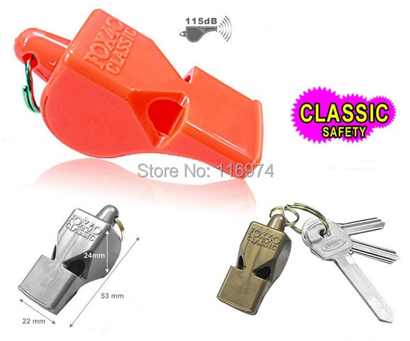 1000pcs/lot 8 colours in stock F4 Classic  fox whistle