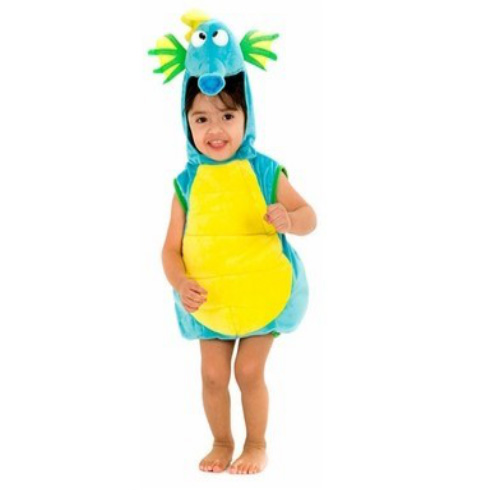 Toddler / Child Sea Horse Costume Marine Animal Halloween Party Costumes