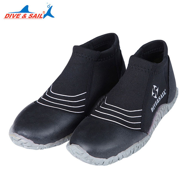be0eb47c3eef 3mm Diving Flippers Rubber Diving Shoes Anti-uv Swimming Fins Snorkelling  Flippers Men Women Upstream