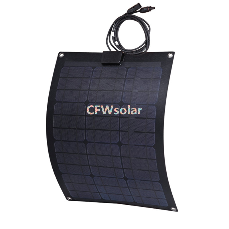 solar panel 50W price from china with PCB plate, aa solar battery, power supply for 12V battery.