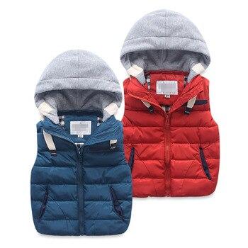 little kids vest children cotton-padded thicken waistcoat kids outwears vest baby boy&girls winter warm jacket baby clothes tops