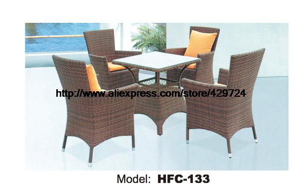 small garden set high back rattan chair leisure table. Black Bedroom Furniture Sets. Home Design Ideas