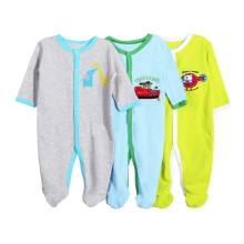 3 Pieces Long Sleeve Baby Rompers