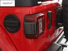Lapetus Accessories Fit For Jeep Wrangler JL 2018 2019 ABS Rear Tail Trunk Lights Lamp Decoration Sticker Molding Cover Kit Trim orient uhd 2m2c12 шасси для ssd m 2 ngff для установки в sata отсек оптического привода ноутбука 12 7 мм