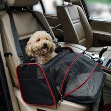 Переноска для домашних собак, автомобильная сумка для сидения, переноска для собак, автомобильное сиденье, водонепроницаемая дорожная сумка, переноска для кошек, собак, коврик для гамака, подушка, защита