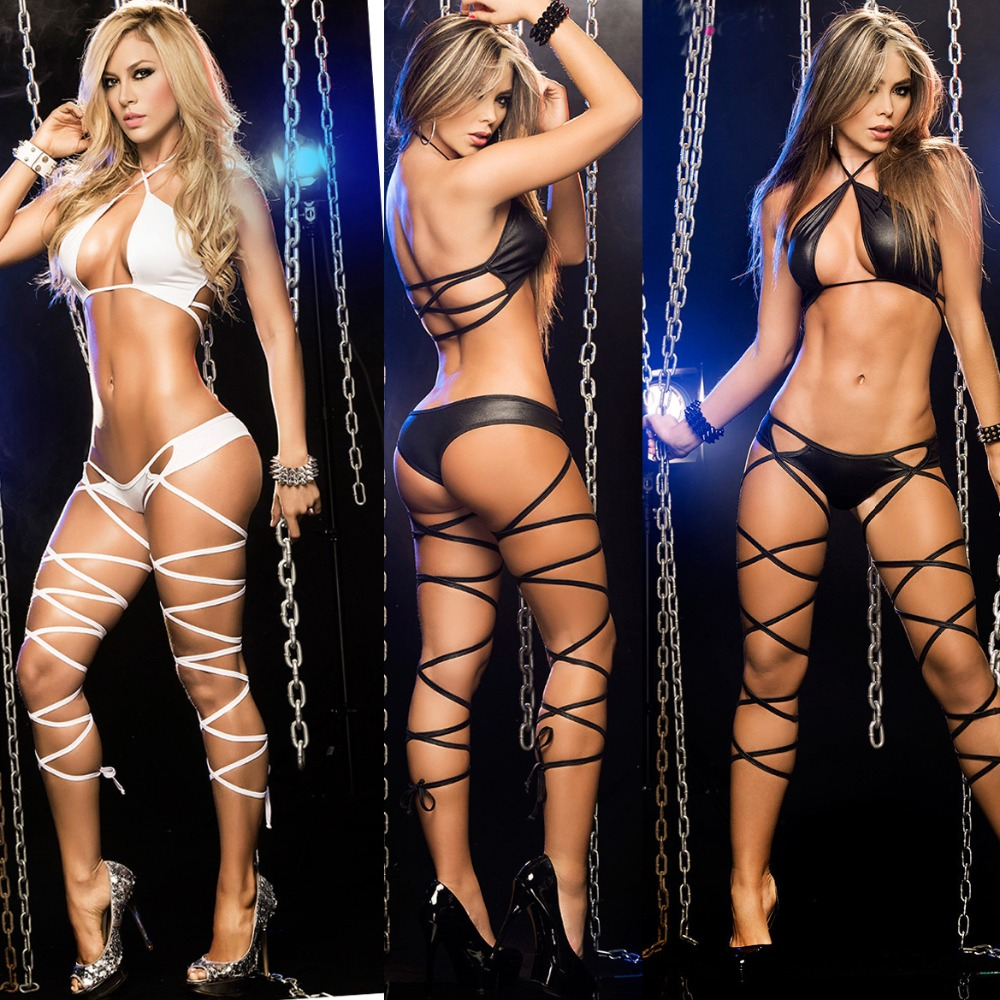 2019 Women Sexy Hot Erotic Babydoll Intimate Lingerie Bondage Bodysuit Porn Sex Negligee Rolepaly Sm Costumes