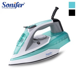 2200W Electric Iron Steam Flatiron For Clothes High Quality Multifunction Ceramic Soleplate Laundry Appliances Sonifer
