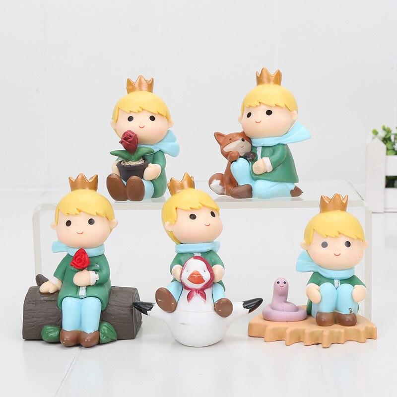 Кукла фигурка из ПВХ, 5 шт./компл., 8 см|figure set|toy setcollectible dolls | АлиЭкспресс
