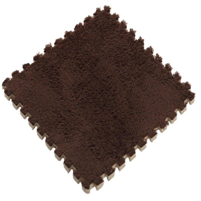 Square Foam Stitching Mats Baby Crawling Mat Child Bedrooms Stitching Creeper Pad Shu Velveteen Home Carpet