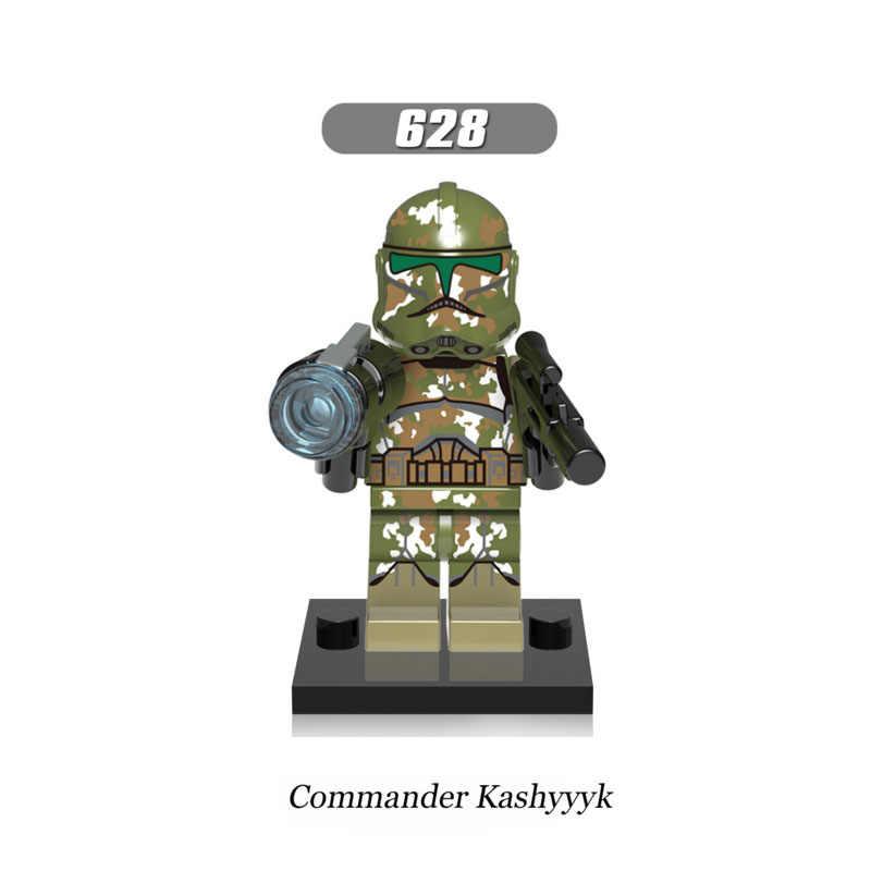 Enkele Verkoop Super Heroes Star Wars 628 commander Kashyyyk Bouwstenen Figuur Bricks Speelgoed kids gift Compatibel Legoed Ninjaed