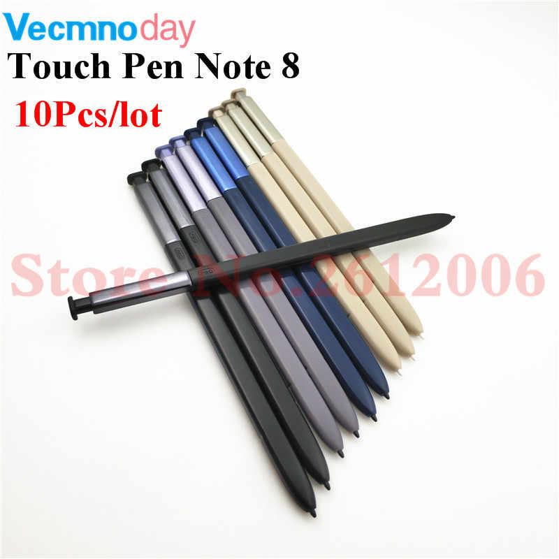 10 قطعة/الوحدة نشط قلم S القلم لسامسونج غالاكسي ملاحظة 8 Note8 N950 N950F N950FD N950U N950N N950W مرود Caneta قلم شاشة اللمس