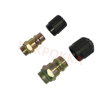 Automotive air conditioning fitting valve, gas mouth for MB BENZ FOR BMW FOR MAN TRUCK ACTORS image
