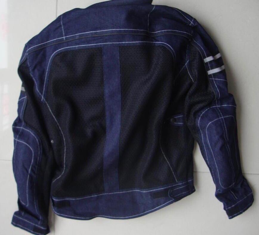 JK-006 Vintage Denim Mesh Jacket a7