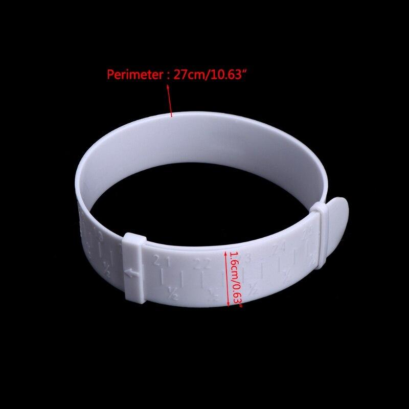 JAVRICK Plastic Bangle Bracelet Hand Wrist Sizer Gauge Measure Ring Jewelry Measuring Tool NEW