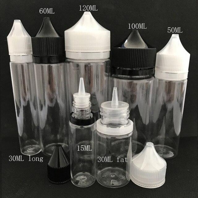 Bộ 100 Mỡ E Liquid 10Ml 15Ml 30Ml 50Ml 60Ml 100Ml 120ml Bút Hình Nhựa Ly Đá Bình Cho E Juice Gel Móng Tay