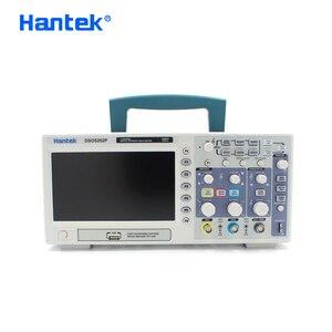 Image 1 - Hantek DSO5202P Kỹ Thuật Số Dao Động Ký 200MHz 2 Kênh USB Cầm Tay Osciloscopio Di Động 1gsa/S Điện Oscillograph 7Inch
