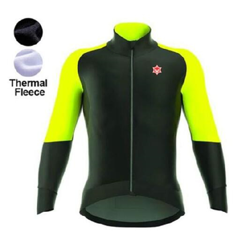 Thermal Fleece Cycling Jersey Ropa Ciclismo Winter Long Sleeve Only Cycling Clothing cycle jerseys black thermal fleece cycling clothing winter fleece long adequate quality cycling jersey bicycle clothing cc5081