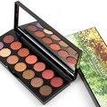 Marca 14 Colores de Maquillaje Paleta de Sombra de ojos Mate y Shimmer Maquillaje Sombra de Ojos Paleta de Cosméticos a prueba de agua Set De Regalo De Navidad