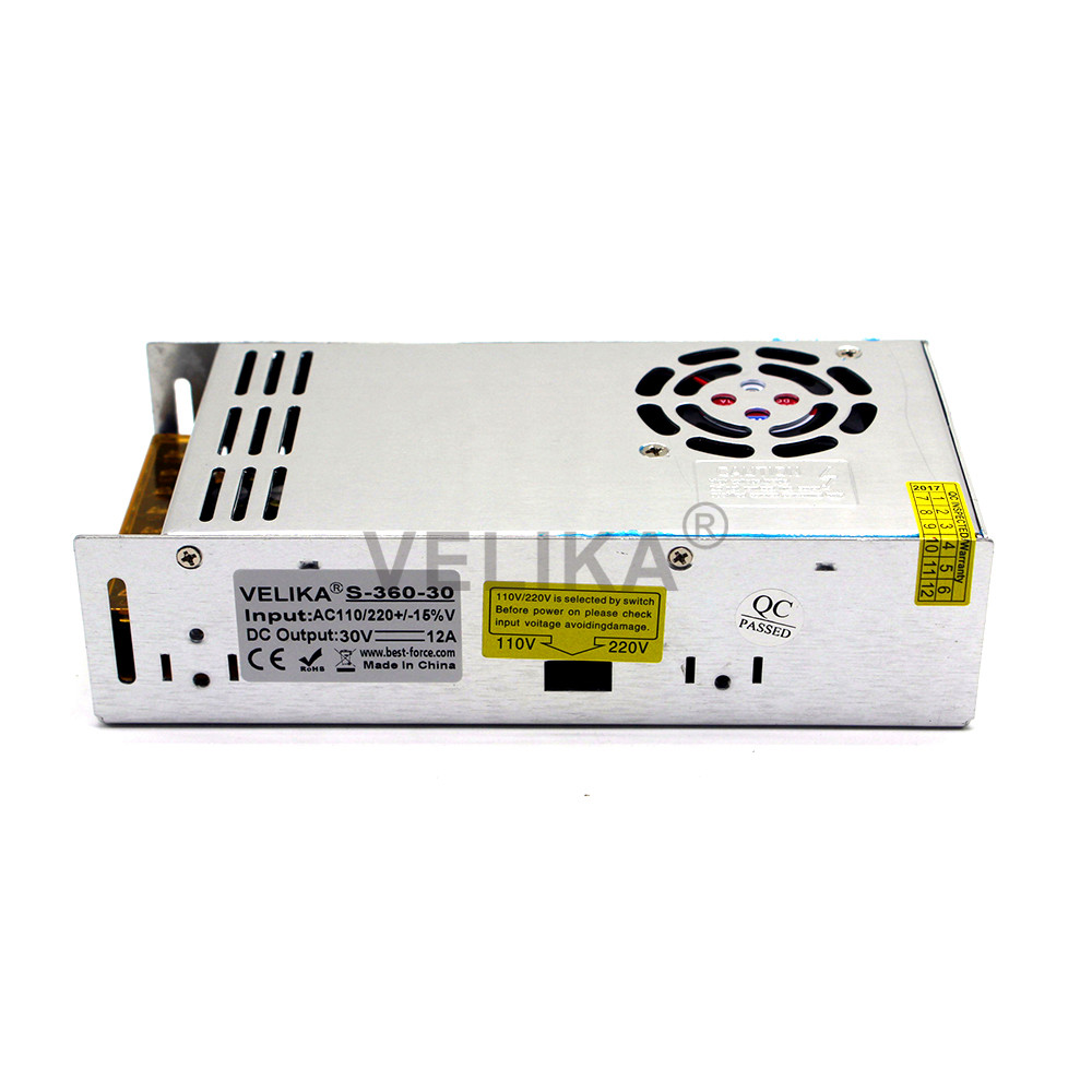 Best Price Switching Power Supply DC 30V 12A 360W Driver USP 110V ...