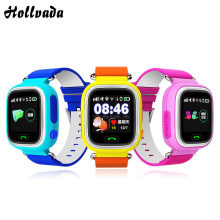 New Q90 Kid smartwatch GPS Phone Positioning Children Watch 1.22 Inch Color Touch Screen WIFI SOS Smart Watch PK Q80 Q50 Q258(China)